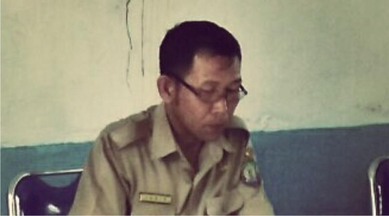 Mantan pelaksana tugas Desa Lantawonua Kec. Rumbia Kab. Bombana. Janib. SP
