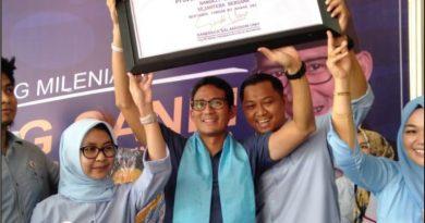 Sahabat Prabowo-Sandi (SPS) wilayah Sultra resmi dikukuhkan, pada Selasa (24/12/2018) kemarin