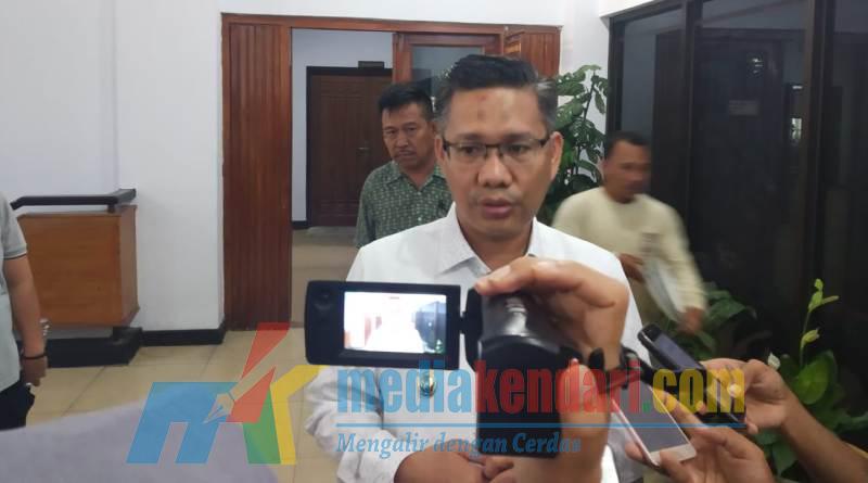 Pelaksana Tugas (Plt) Wali Kota Kendari Sulkarnain Kadir