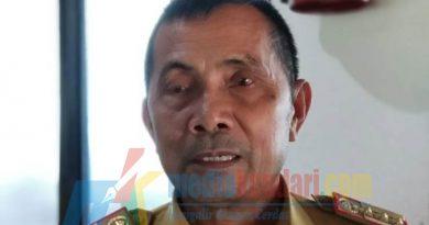 Ketgam : Laode Ali Akbar Kepala Biro Pemerintahan Setda Sultra. (Foto : Rahmat R)