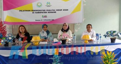Dinas Pemberdayaan Perempuan dan Perlindungan Anak (DP3A) bersama dengan Forum Komunikasi Partisipasi Publik untuk Kesejahteraan Perempuan dan Anak (PUSPA)