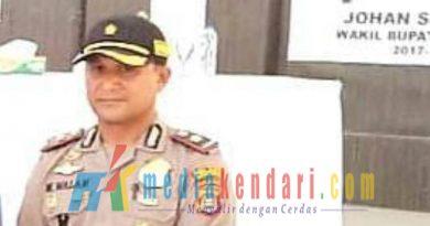 Kompol Muhadi Walam,S.Sos Waka polres Bombana.