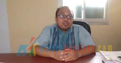 Ahmad Feni Hasfian,pelaksana kantor pelayanan penyuluhan dan konsultasi perpajakan (kp2kp) Rumbia,(foto hasrun)