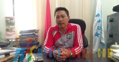 Rusman S.Pd M.Si kepala badan Bkpsdm kab bombana.