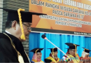 Unidayan Baubau Lantik 568 Wisudawan Periode II 2018