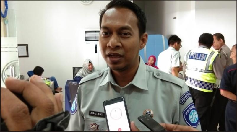 Kepala Cabang Jasa Raharja Sultra, Regy S Wijaya