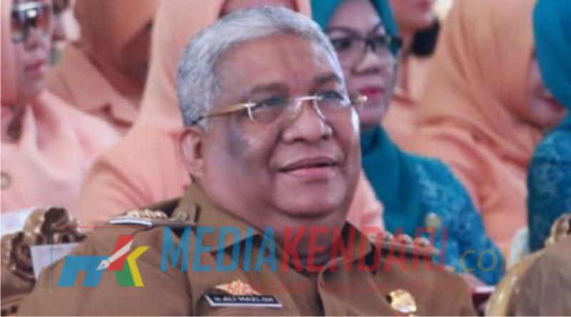 Ali Mazi Gubernur Sultra (Foto : Rahmat R.)