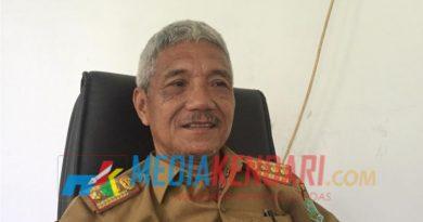 Kepala Disperindag Kabupaten Konawe, H. Ansharullah SE. MM., usai di wawancara Mediakendari.com, Selasa (15/1/2019). Foto : Indiana/Mediakendari.com