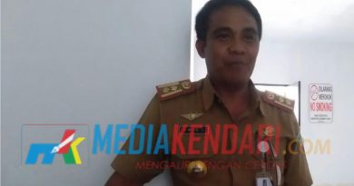 Kepala Dinas Perhubungan Kabupaten Konawe Utara, Aris L (Foto : Mumun).