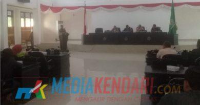 Setelah terkatung-katung APBD Konawe 2019 resmi ditetapkan pada Rapat Paripurna Jumat (4/1/2019).