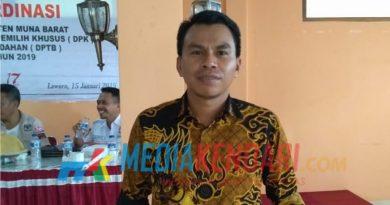 Ketua KPUD Mubar, Awaluddin Usa (Foto: Erwino/mediakendari.com)