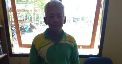 Pelaku Bom Ikan di perairan Sikeli Bombana,(foto istimewa)