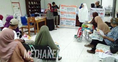 Pasien dan Karyawan RS Bahteramas Jadi Sasaran Sosialisasi Relawan Demokrasi