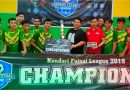 Yudianto Mahardika Beri Perhatian Kaum Millenial Melalui Futsal