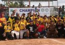 Tim Softball Putra Sultra Juara Bupati Pinrang Cup