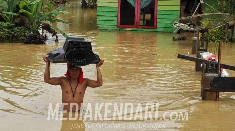 Banjir di Kabupaten Konawe Selatan