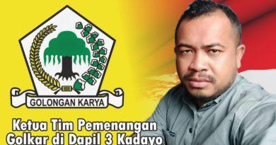 Caleg Golkar Asal Bangkudu Lolos ke DPRD Butur