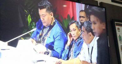 Rekapitulasi KPU Sultra Diterima Tingkat Nasional