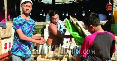 Polisi Bebaskan Terduga Pencuri Ikan di Pasar Anduonuhu, Pedagang Geram