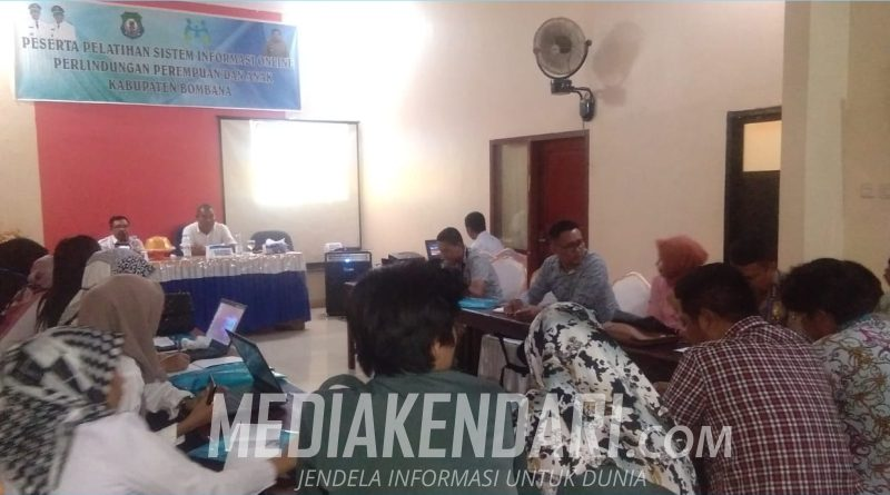 DP3A Bombana: Kekerasan Perempuan dan Anak Kini Bisa Dilapor Secara Online