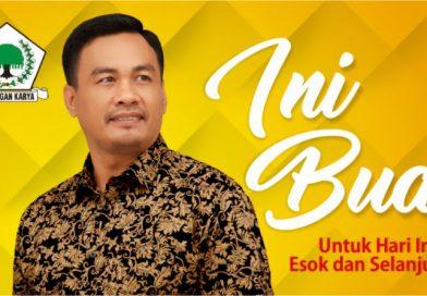 Ketua Bapilu Partai Golkar Konsel Tegaskan Usung Irham Kalenggo di Pilbub 2020