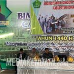 Bupati Konawe Berangkatkan 163 Jamaah Calon Haji
