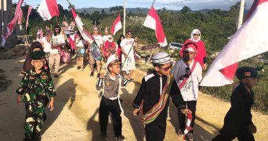 Serunya 'Halal Bihalal' Kemerdekaan RI ke-74 Ala Warga Grand Boulevard Regency