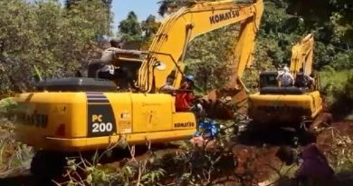 Alat Berat PT GKP di Desa Sukarela Jaya, Konkep, Dikembalikan ke Basecamp