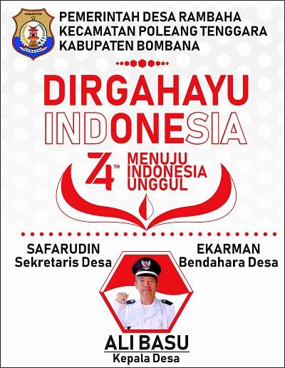 Iklan Kepala Desa Bombana