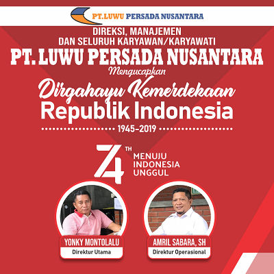 Iklan PT Luwu