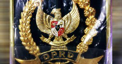 Belum Dianggarkan, Anggota Dewan Kendari Tak Kebagian Pin Emas