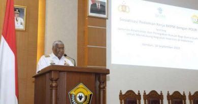 Sosialisasi MoU BKPM dan Polri, Gubernur Sultra Tegaskan Perlunya Jaminan Keamanan Bagi Investor