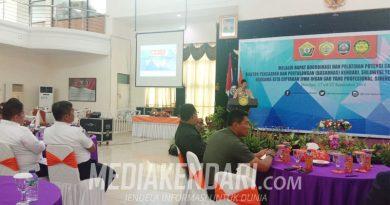 Basarnas RI Gelar Rakor Penyusunan SOP dan Rencana Kontigensi di Baubau