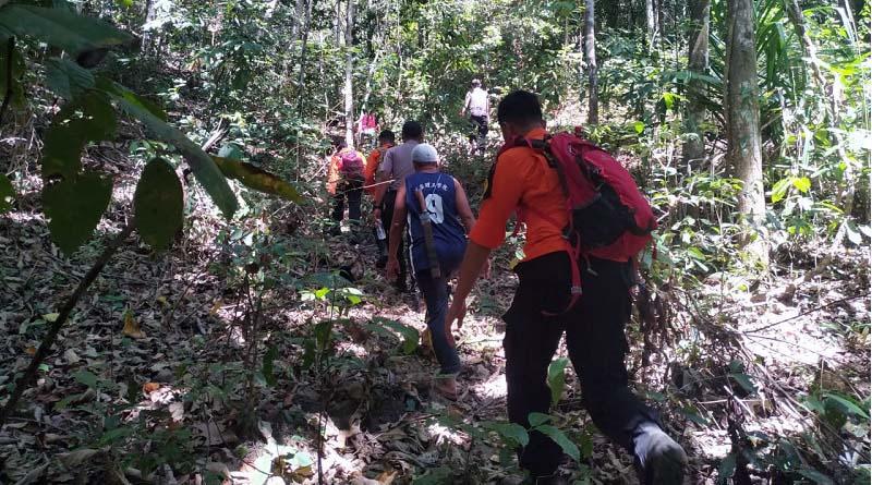 Warga Paruh Baya Hilang di Hutan, Tim SAR Gabungan Terus Lakukan Pencarian