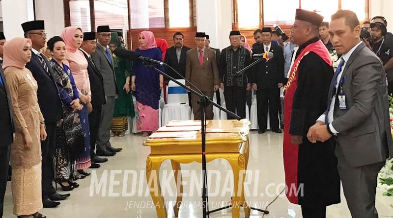 Potret Pelantikan Anggota DPRD Kabupaten Konawe Periode 2019-2024