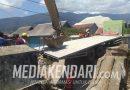 Mobil Tronton Jatuh Dijembatan Kampung Baru Berhasil Dievakuasi
