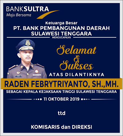 iklan Bank Sultra