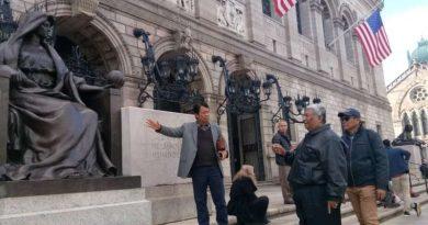 Ali Mazi di Amerika, Kagumi Arsitektur dan Sistem Pelayanan Perpustakaan Boston