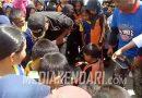 Ratusan Siswa SD di Kota Kendari Simulasikan Penanganan Bencana Bersama BPBD