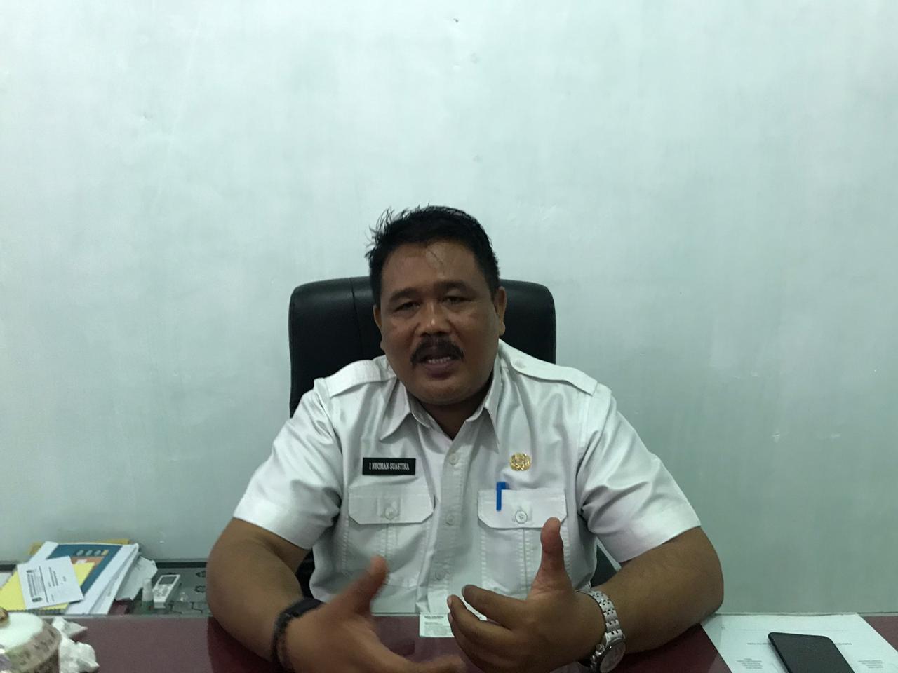 Kepala Dinas Koperasi, Perindustrian dan Perdagangan, Inyoman Suastika