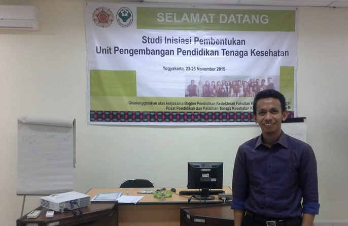Ketua Panitia Kegiatan, Ahmad Mudatsir S.Kep.,MHPE