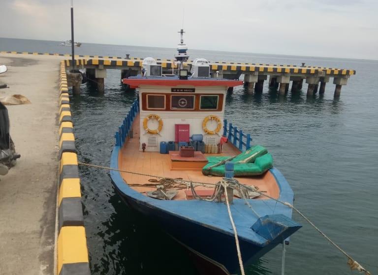 Satu Unit Kapal Pelayaran Rakyat Bantuan Dari Kemenhub RI