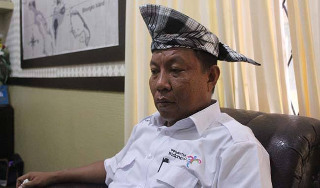 Nadar, Kepala Dinas Pariwisata dan Ekonomi Kreatif Kabupaten Wakatobi