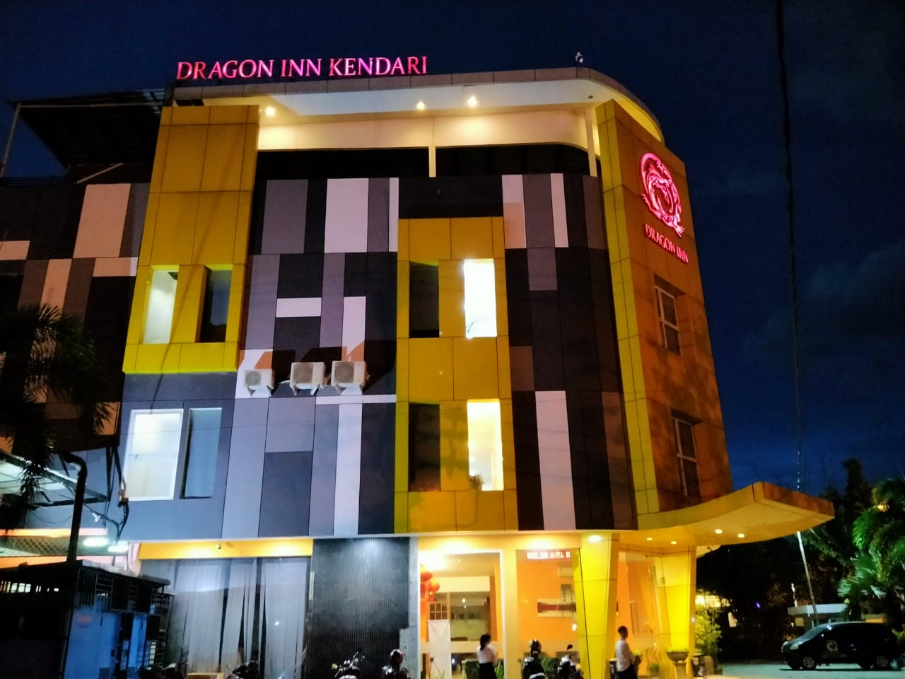 Hotel Dragon IIN Kendari Foto : MEDIAKENDARI.com/Taswin Tahang