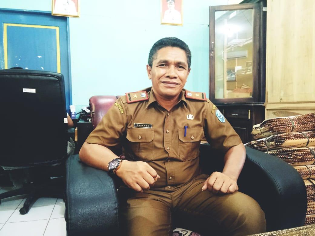 Kepala Badan Kepegawaian dan Pengembangan Sumber daya Manusia Kabupaten Buton Tengah, Samrin Saerani