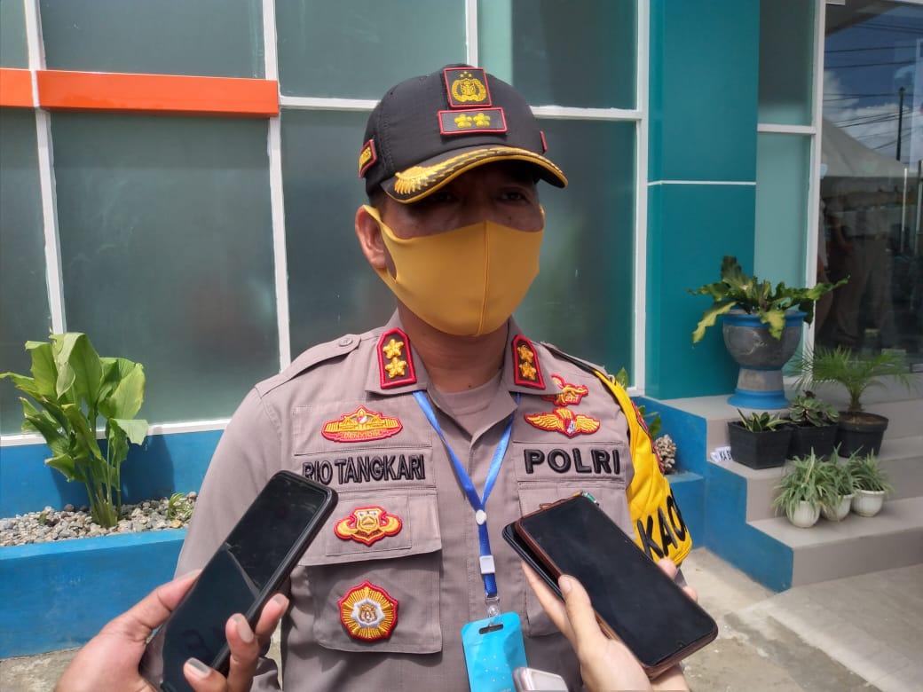 Kapolres Baubau, AKBP Zainal Rio Chandra Tangkari.