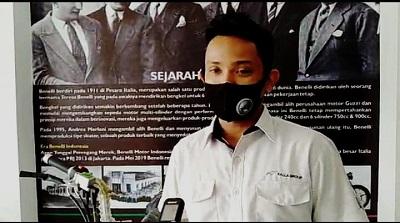 Beance Manager Benelli Kendari Tri Saktiawan Okan