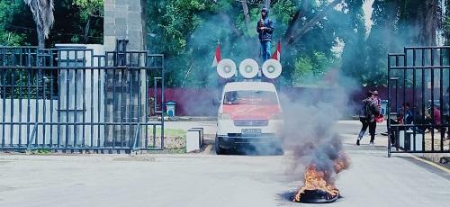 Demonstrasi di DPRD Provinsi