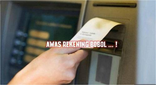 Ilustrasi Pembobol ATM