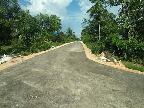 Kondisi Jalan Lingkungan Perumahan di Muna Barat